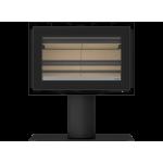 Estufa de Leña VISTA 80P con ventilación - ADF